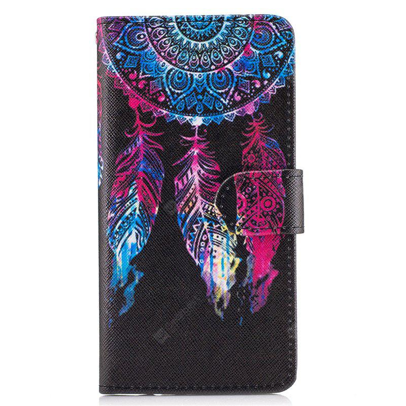 Bicycle Painting Card Lanyard Pu Leather Cover for Samsung J3 prime
