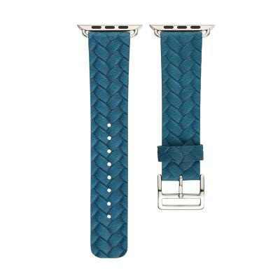 Genuine WatchBand Single Tour Bracelet Leather Band Strap for Apple Watch Series 3 / 2 / 1 38MMSmart Watch Accessories<br>Genuine WatchBand Single Tour Bracelet Leather Band Strap for Apple Watch Series 3 / 2 / 1 38MM<br><br>Material: Genuine Leather<br>Package Contents: 1 x Band<br>Package size: 10.00 x 5.00 x 5.00 cm / 3.94 x 1.97 x 1.97 inches<br>Package weight: 0.0900 kg<br>Product weight: 0.0800 kg