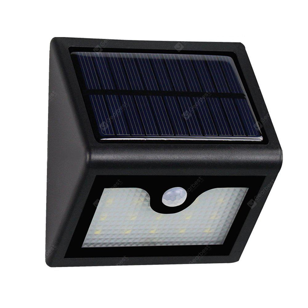 Super bright 16leds waterproof solar powered light pir motion sensor super bright 16leds waterproof solar powered light pir motion sensor outdoor garden patio path wall mount mozeypictures Choice Image