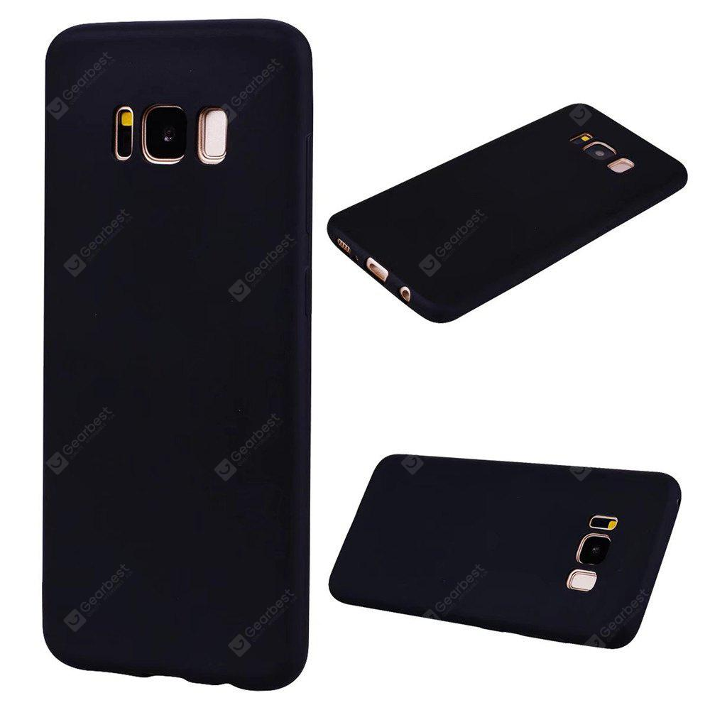 Hybrid Slim Front and Back Protection Flexible TPU Anti Scratch Shock Absorption Case Cover for Samsung Galaxy S8