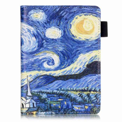 Pattern Folio Case for Kindle 2016 with Sleep / Wake FunctionTablet Accessories<br>Pattern Folio Case for Kindle 2016 with Sleep / Wake Function<br><br>Accessory type: Tablet Leather Case<br>Available Color: Blue<br>Compatible models: for Amazon<br>Features: Auto Sleep/Wake Up, Full Body Cases, Anti-knock, Dirt-resistant, Detachable<br>For: Tablet PC<br>Material: PU + PC<br>Package Contents: 1 x Case<br>Package size (L x W x H): 16.00 x 12.00 x 1.00 cm / 6.3 x 4.72 x 0.39 inches<br>Package weight: 0.1200 kg<br>Style: Pattern