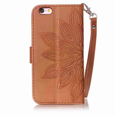 Double Embossed Half Flower PU TPU Phone Case for iPhone 6  / 6SiPhone Cases/Covers<br>Double Embossed Half Flower PU TPU Phone Case for iPhone 6  / 6S<br><br>Compatible for Apple: iPhone 6, iPhone 6S<br>Features: Cases with Stand, With Credit Card Holder, With Lanyard, Anti-knock, Dirt-resistant, FullBody Cases<br>Material: TPU, PU Leather<br>Package Contents: 1 x Phone Case<br>Package size (L x W x H): 16.10 x 8.50 x 1.80 cm / 6.34 x 3.35 x 0.71 inches<br>Package weight: 0.0880 kg<br>Style: Pattern, Solid Color, Ultra Slim, Designed in China