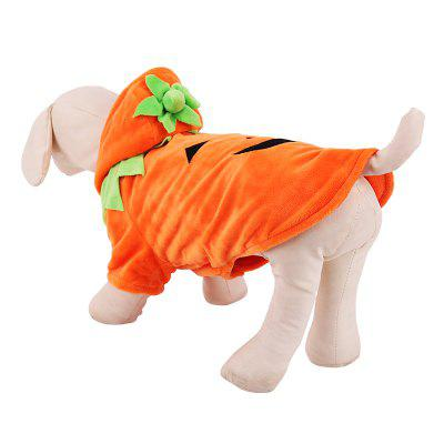 Lovoyager Lvc1701 Halloween Dogs Clothes Decorate Cute Pumpkin Dresses