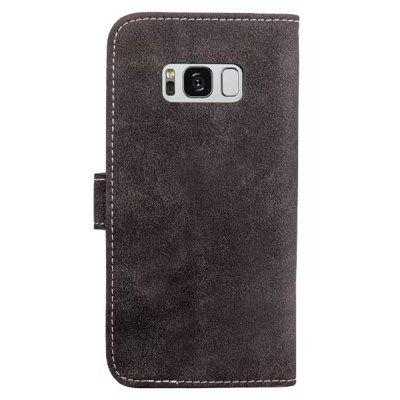 PU Leather Cover Case for Samsung S8 PlusSamsung S Series<br>PU Leather Cover Case for Samsung S8 Plus<br><br>Features: Anti-knock, Button Protector, Cases with Stand, Dirt-resistant, Full Body Cases, With Credit Card Holder<br>Material: TPU, PU Leather<br>Package Contents: 1 x Phone Case<br>Package size (L x W x H): 16.80 x 8.80 x 2.50 cm / 6.61 x 3.46 x 0.98 inches<br>Package weight: 0.0750 kg<br>Product size (L x W x H): 16.30 x 8.30 x 1.70 cm / 6.42 x 3.27 x 0.67 inches<br>Product weight: 0.0740 kg<br>Style: Leather, Novelty