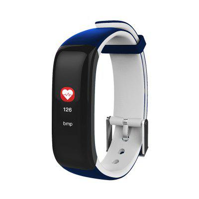P1 Screen Pedometer Watch Blood Pressure Heart Rate Monitor Fitness Bracelet Smart Band for IOS Android OS