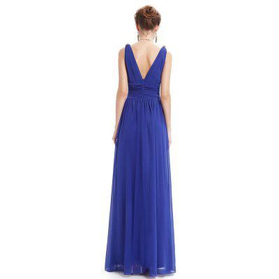 Deep V Neck Sleeveless Open Back DressMaxi Dresses<br>Deep V Neck Sleeveless Open Back Dress<br><br>Dresses Length: Ankle-Length<br>Elasticity: Micro-elastic<br>Embellishment: Draped<br>Fabric Type: Chiffon<br>Material: Polyester<br>Neckline: V-Neck<br>Package Contents: 1 x Dress<br>Pattern Type: Solid<br>Season: Summer<br>Silhouette: A-Line<br>Sleeve Length: Sleeveless<br>Style: Elegant<br>Waist: Natural<br>Weight: 0.3500kg<br>With Belt: No