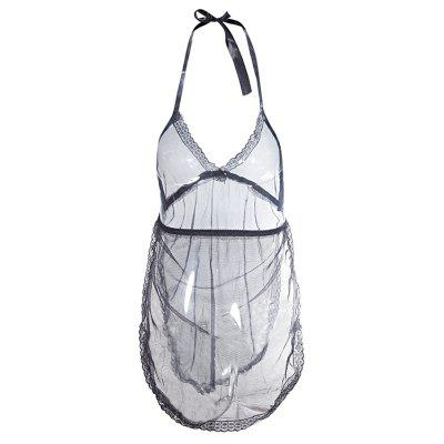 Sexy Lingerie Sexy Two Sides Open Transparent Pajamas Lure Our Sling Stomachers