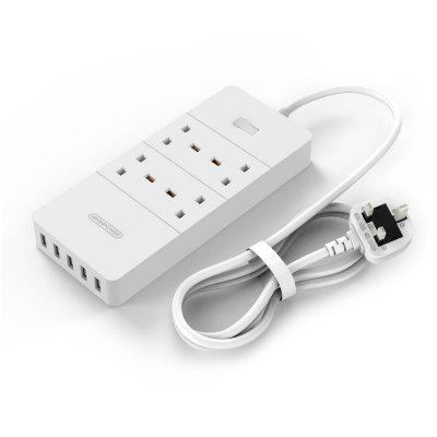 NTONPOWER HPC - 4A5U - V1 - UK Surge Protector With USB Charger