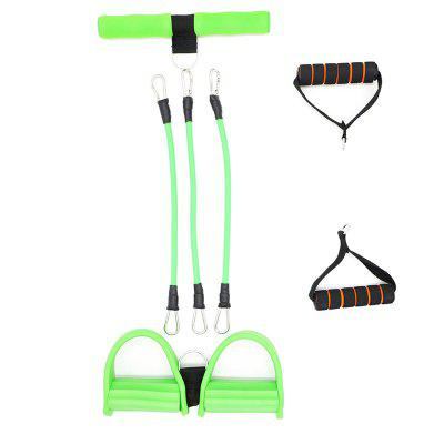 Buy Home Office Feet Rally Fitness Equipment Resistance Foot Band GREEN for $24.26 in GearBest store