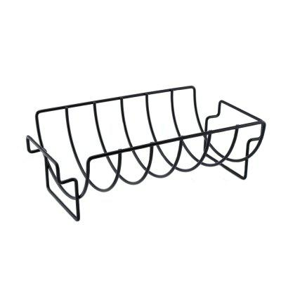 Non-stick Rib Rack Great for Cooking Ribs Roasts Chickens Camping  Picnics  and Other Outdoor Activities