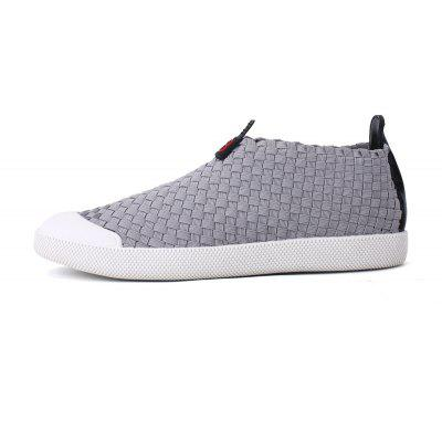 Men Casual New Trend for Fashion Outdoor Slip on Rubber ShoesCasual Shoes<br>Men Casual New Trend for Fashion Outdoor Slip on Rubber Shoes<br><br>Available Size: 39-44<br>Closure Type: Slip-On<br>Embellishment: None<br>Gender: For Men<br>Outsole Material: Rubber<br>Package Contents: 1?Shoes(pair)<br>Pattern Type: Solid<br>Season: Winter, Spring/Fall<br>Toe Shape: Round Toe<br>Toe Style: Closed Toe<br>Upper Material: Leather<br>Weight: 1.2000kg