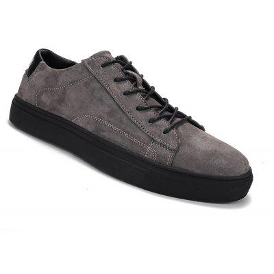 Buy GRAY 39 Men Leisure Fashion Jogging Athletic Breathable Walking Sneakers for $43.44 in GearBest store
