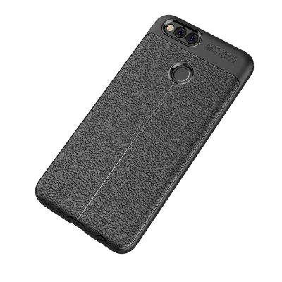 Shockproof Back Cover Solid Color Soft TPU Case for Huawei Honor 7XCases &amp; Leather<br>Shockproof Back Cover Solid Color Soft TPU Case for Huawei Honor 7X<br><br>Compatible Model: Huawei Honor 7X<br>Features: Back Cover, Anti-knock<br>Mainly Compatible with: HUAWEI<br>Material: TPU<br>Package Contents: 1 x Phone Case<br>Package size (L x W x H): 20.00 x 11.50 x 1.00 cm / 7.87 x 4.53 x 0.39 inches<br>Package weight: 0.0200 kg<br>Style: Solid Color