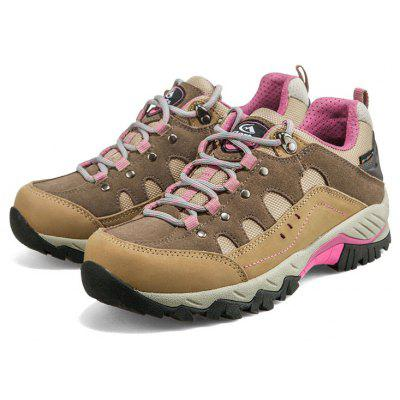 Hiking Shoes Low-cut Sport Shoes Breathable Hiking Boots Athletic Outdoor Shoes for Women 2017 women hiking sneakers shose lace up low cut sport shoes breathable hiking shoes women athletic outdoor shoes quick drying