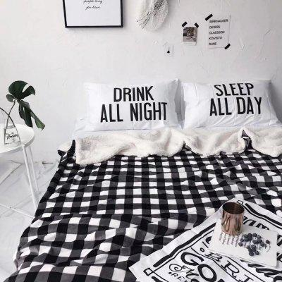 Double Layer Thickening Plush Plaid BlanketBlankets &amp; Throws<br>Double Layer Thickening Plush Plaid Blanket<br><br>Package Contents: 1 x Blanket<br>Package size (L x W x H): 55.00 x 45.00 x 6.00 cm / 21.65 x 17.72 x 2.36 inches<br>Package weight: 2.2000 kg<br>Product weight: 2.1000 kg