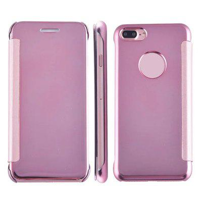 Luxury Mirror PU Leather Smart Flip hard Protective back cover Case for iPhone 7 PlusiPhone Cases/Covers<br>Luxury Mirror PU Leather Smart Flip hard Protective back cover Case for iPhone 7 Plus<br><br>Compatible for Apple: iPhone 7 Plus<br>Features: With Mirror, Vertical Top Flip Case, Anti-knock, Dirt-resistant, FullBody Cases<br>Material: PC, PU Leather<br>Package Contents: 1 x Phone Case<br>Package size (L x W x H): 20.00 x 8.00 x 2.00 cm / 7.87 x 3.15 x 0.79 inches<br>Package weight: 0.0850 kg<br>Product weight: 0.0750 kg<br>Style: Solid Color