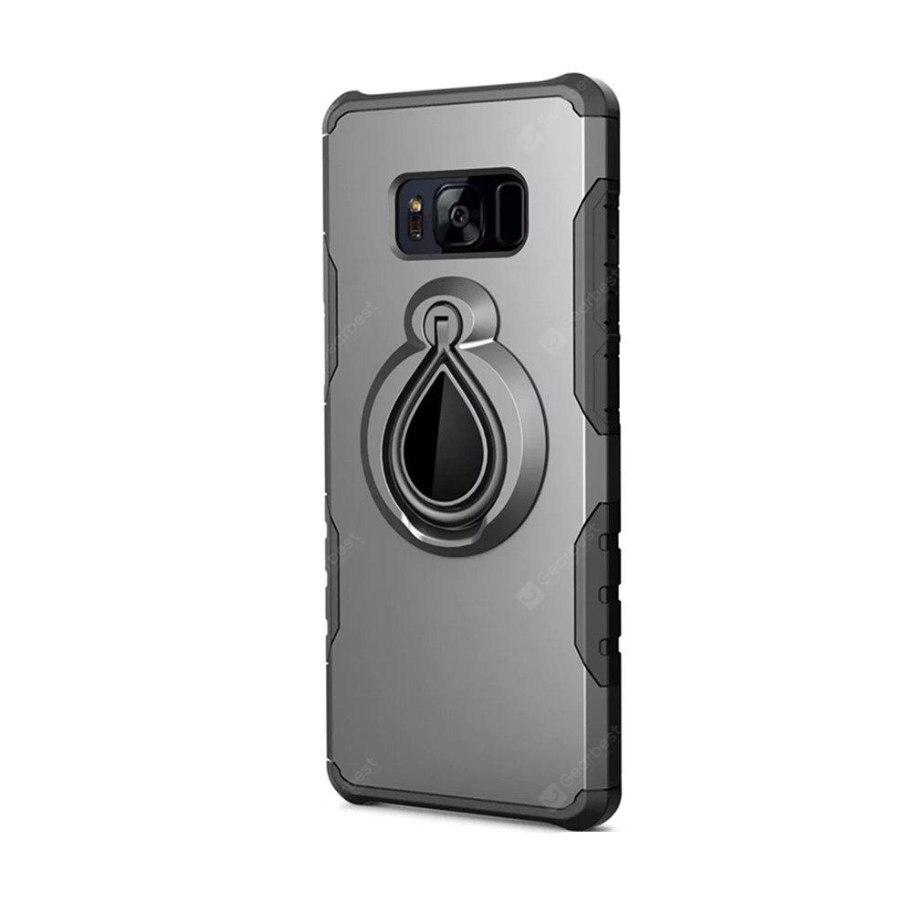 Metal Ring Holder Combo Phone Bag Luxury Shockproof Case for Samsung Galaxy S8 Plus