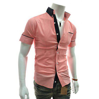 Mens Casual Short Sleeved ShirtsMens Shirts<br>Mens Casual Short Sleeved Shirts<br><br>Collar: Turn-down Collar<br>Material: Cotton, Cotton Blends<br>Package Contents: 1xShirts<br>Shirts Type: Casual Shirts<br>Sleeve Length: Half<br>Weight: 0.1200kg