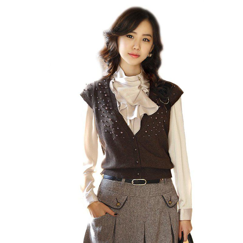 Silk Blouse with Long Sleeves