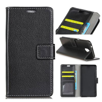 Vintage Litchi Pattern Protection Non-slip Leather Case for LG Q8iPhone Cases/Covers<br>Vintage Litchi Pattern Protection Non-slip Leather Case for LG Q8<br><br>Features: Back Cover, Wallet Case<br>Material: Genuine Leather<br>Package Contents: 1 x Phone Case<br>Package size (L x W x H): 18.00 x 8.00 x 2.00 cm / 7.09 x 3.15 x 0.79 inches<br>Package weight: 0.0530 kg<br>Product size (L x W x H): 15.00 x 6.70 x 0.70 cm / 5.91 x 2.64 x 0.28 inches<br>Product weight: 0.0500 kg<br>Style: Vintage