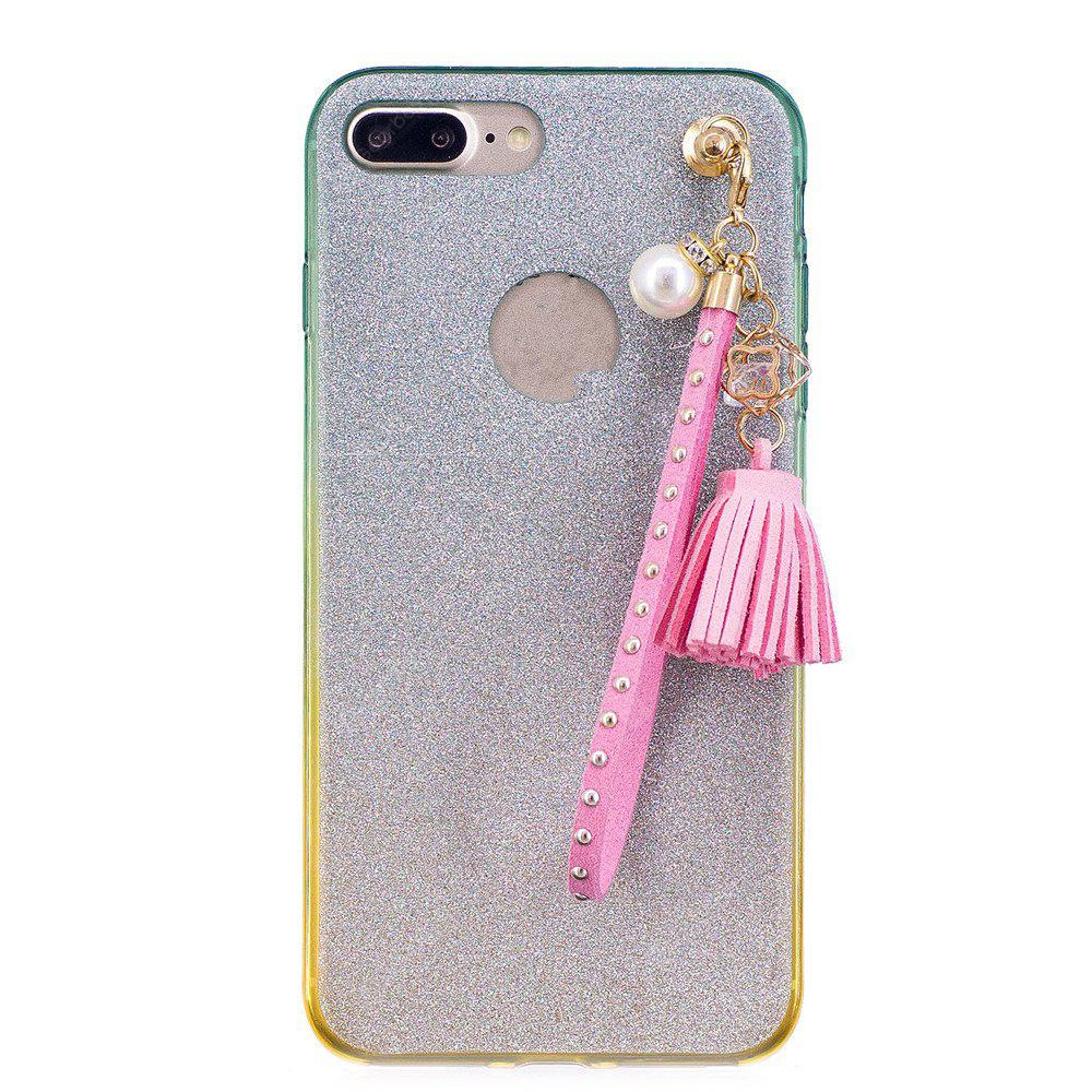 Custodia per telefono Gradient Tassel per iPhone 8 Plus