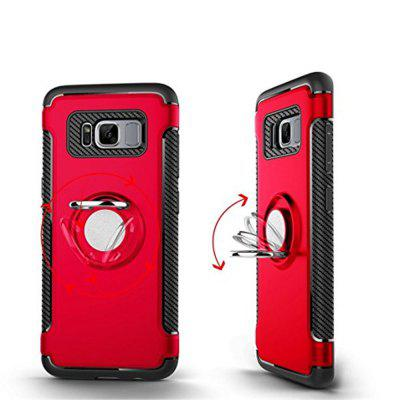 2 in 1 Shockproof 360 Degree Rotating Ring Stand with Case for Samsung Galaxy S8Samsung S Series<br>2 in 1 Shockproof 360 Degree Rotating Ring Stand with Case for Samsung Galaxy S8<br><br>Color: Rose Gold,Silver,Black,Red,Blue,Gold,Gray,Army green<br>Compatible with: Samsung Galaxy S8<br>Features: Back Cover, Full Body Cases, Bumper Frame, Cases with Stand, Anti-knock, Dirt-resistant<br>For: Samsung Mobile Phone<br>Material: PC, TPU<br>Package Contents: 1 x Phone Case<br>Package size (L x W x H): 20.00 x 9.00 x 2.00 cm / 7.87 x 3.54 x 0.79 inches<br>Package weight: 0.0500 kg<br>Product weight: 0.0400 kg<br>Style: Solid Color