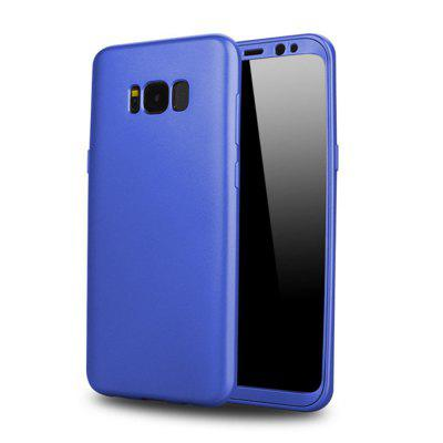 360 Protected Full Phone Cover Soft TPU Silicone for Galaxy Samsung S8 Plus Shockproof Case