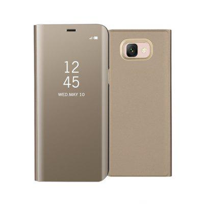 Mirror Flip Leather Clear View Window Smart Cover for Samsung Galaxy J7 Max Case