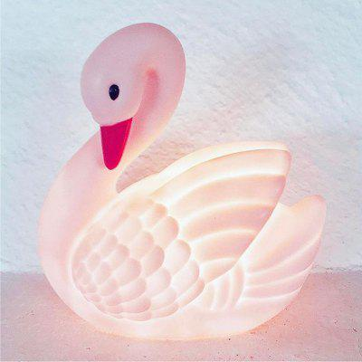 New Swan Shape Children Toys Night Light for Home Furnishings Amusement