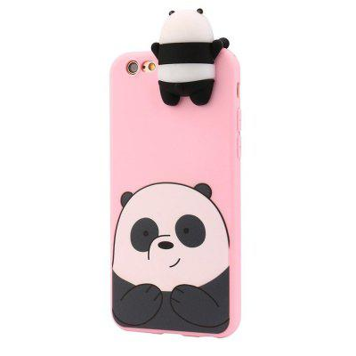 3D Cartoon Animals Cute We Bare Bears Soft Silicone Case Cover Skin for iPhone 6/6S