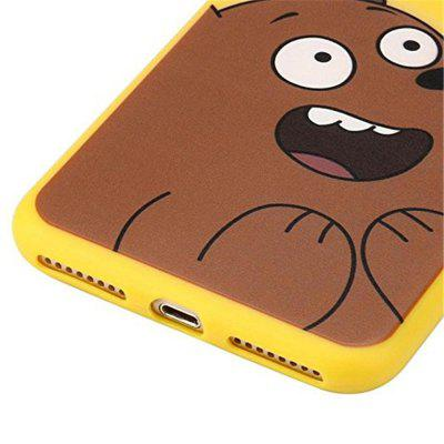 Soft Silicone Case Cover Skin 3D Cartoon Animals Cute We Bare Bears  for iPhone 8plusiPhone Cases/Covers<br>Soft Silicone Case Cover Skin 3D Cartoon Animals Cute We Bare Bears  for iPhone 8plus<br><br>Compatible for Apple: iPhone 8 Plus<br>Features: Anti-knock, Dirt-resistant<br>Material: TPU<br>Package Contents: 1 x Phone Case<br>Package size (L x W x H): 15.00 x 5.00 x 1.00 cm / 5.91 x 1.97 x 0.39 inches<br>Package weight: 0.0300 kg<br>Product size (L x W x H): 14.00 x 4.00 x 0.80 cm / 5.51 x 1.57 x 0.31 inches<br>Product weight: 0.0200 kg<br>Style: Pattern, Novelty, Cartoon