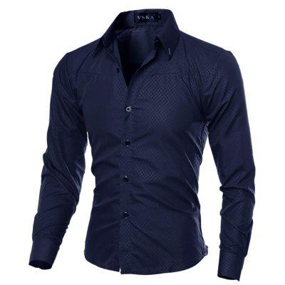Brand New Autumn and Winter Men Shirt Social Masculina Casual Slim Fit  Shirts