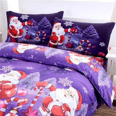 Merry Christmas Santa Claus Bedding SetsBedding Sets<br>Merry Christmas Santa Claus Bedding Sets<br><br>Package Contents: 1 x Bedding Set<br>Package size (L x W x H): 24.00 x 20.00 x 10.00 cm / 9.45 x 7.87 x 3.94 inches<br>Package weight: 1.5000 kg<br>Product weight: 1.4500 kg