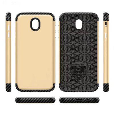 Luxury Shockproof Back Cover Carbon Fiber TPU + PC Protective Case for Samsung J530Samsung J Series<br>Luxury Shockproof Back Cover Carbon Fiber TPU + PC Protective Case for Samsung J530<br><br>Features: Back Cover, Anti-knock<br>For: Samsung Mobile Phone<br>Material: TPU, Carbon<br>Package Contents: 1 x Phone Case<br>Package size (L x W x H): 18.00 x 8.00 x 2.00 cm / 7.09 x 3.15 x 0.79 inches<br>Package weight: 0.0350 kg<br>Product weight: 0.0300 kg<br>Style: Colorful, Solid Color