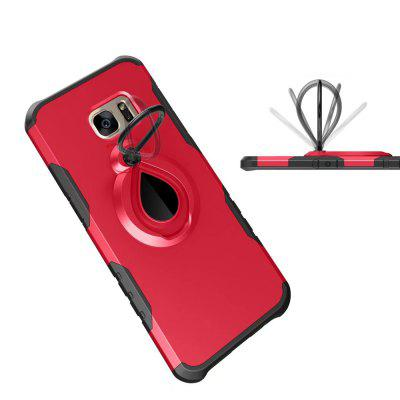 Raindrops shape Hybrid Slim TPU Bumper Protective with 360 Degree Rotating Metal Ring Holder Kickstand Case for Samsung Galaxy S7Samsung S Series<br>Raindrops shape Hybrid Slim TPU Bumper Protective with 360 Degree Rotating Metal Ring Holder Kickstand Case for Samsung Galaxy S7<br><br>Compatible for Samsung: Samsung Galaxy S7<br>Features: Back Cover, Cases with Stand, Anti-knock<br>Material: PC, Metal<br>Package Contents: 1 x Phone Case<br>Package size (L x W x H): 18.00 x 8.00 x 2.00 cm / 7.09 x 3.15 x 0.79 inches<br>Package weight: 0.0370 kg<br>Product weight: 0.0350 kg<br>Style: Solid Color