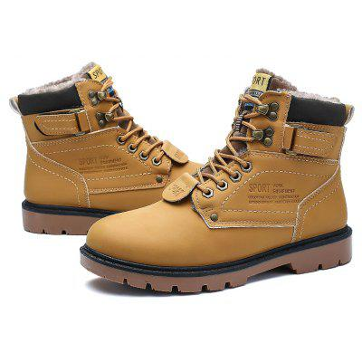 """Winter Big Size Tooling Boots Bulk MenS ShoesMens Boots<br>Winter Big Size Tooling Boots Bulk MenS Shoes<br><br>Boot Height: Ankle<br>Boot Type: Work &amp; Safety<br>Closure Type: Elastic band<br>Embellishment: None<br>Gender: For Men<br>Heel Hight: Flat(0-0.5"""")<br>Heel Type: Others<br>Outsole Material: Rubber<br>Package Contents: 1xShoes(pair)<br>Pattern Type: Others<br>Season: Winter, Spring/Fall<br>Toe Shape: Round Toe<br>Upper Material: PU<br>Weight: 1.2800kg"""
