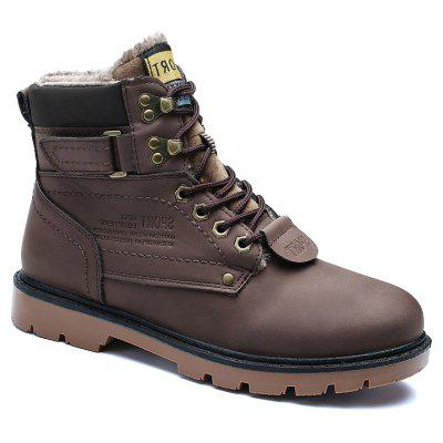 Winter Big Size Tooling Boots Bulk Men'S Shoes
