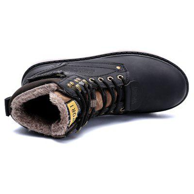 """Winter Big Size Cashmere Workers Boots Bulk MenS ShoesMens Boots<br>Winter Big Size Cashmere Workers Boots Bulk MenS Shoes<br><br>Boot Height: Ankle<br>Boot Type: Riding/Equestrian<br>Closure Type: Elastic band<br>Embellishment: None<br>Gender: For Men<br>Heel Hight: Flat(0-0.5"""")<br>Heel Type: Others<br>Outsole Material: Rubber<br>Package Contents: 1xShoes(pair)<br>Pattern Type: Others<br>Season: Winter<br>Toe Shape: Round Toe<br>Upper Material: PU<br>Weight: 1.2800kg"""