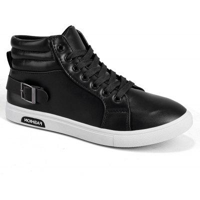 Outono e Inverno New Simple Casual Sneakers Men's Shoes