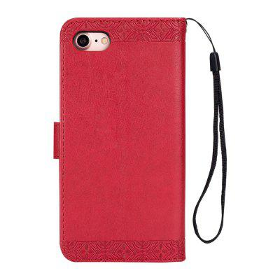 Totem Design Embossed Wallet Flip PU Leather Card Holder Standing Phone Case for iPhone 7/8 4.7 InchiPhone Cases/Covers<br>Totem Design Embossed Wallet Flip PU Leather Card Holder Standing Phone Case for iPhone 7/8 4.7 Inch<br><br>Compatible for Apple: iPhone 7, iPhone 8<br>Features: With Credit Card Holder, With Lanyard, FullBody Cases, Wallet Case<br>Material: TPU, PU Leather<br>Package Contents: 1 x Phone Case<br>Package size (L x W x H): 14.00 x 7.00 x 1.00 cm / 5.51 x 2.76 x 0.39 inches<br>Package weight: 0.0430 kg<br>Style: Vintage, Pattern