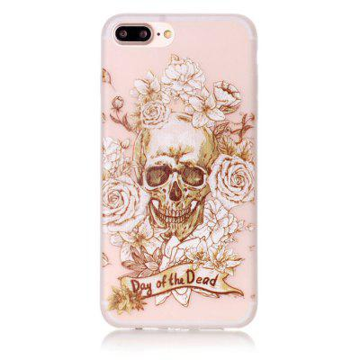The Skeleton Luminous Ultra Thin Slim Soft TPU Silicone Case for iPhone 7 Plus/8 PlusiPhone Cases/Covers<br>The Skeleton Luminous Ultra Thin Slim Soft TPU Silicone Case for iPhone 7 Plus/8 Plus<br><br>Compatible for Apple: iPhone 7 Plus, iPhone 8 Plus<br>Features: Anti-knock<br>Material: TPU<br>Package Contents: 1 x Phone Case<br>Package size (L x W x H): 17.00 x 7.00 x 1.00 cm / 6.69 x 2.76 x 0.39 inches<br>Package weight: 0.0150 kg<br>Style: Glow in the Dark, Pattern