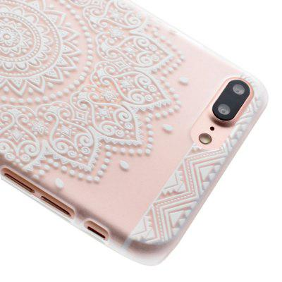 Fashion Relief Ultra Thin Transparent Soft PC Cover Back Case for iPhone 7 Plus / 8 PlusiPhone Cases/Covers<br>Fashion Relief Ultra Thin Transparent Soft PC Cover Back Case for iPhone 7 Plus / 8 Plus<br><br>Compatible for Apple: iPhone 7 Plus, iPhone 8 Plus<br>Features: Anti-knock<br>Material: PC<br>Package Contents: 1 x Phone Case<br>Package size (L x W x H): 17.00 x 7.00 x 1.00 cm / 6.69 x 2.76 x 0.39 inches<br>Package weight: 0.0150 kg<br>Style: Pattern