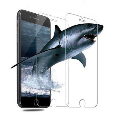 9H hardheid HD gehard glas displayfolie voor iPhone 8 Plus / 7 Plus