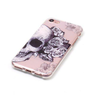 Skeleton flower Soft Silicon Cover For iPhone 7/8iPhone Cases/Covers<br>Skeleton flower Soft Silicon Cover For iPhone 7/8<br><br>Compatible for Apple: iPhone 7, iPhone 8<br>Features: Anti-knock<br>Material: TPU<br>Package Contents: 1 x Phone Case<br>Package size (L x W x H): 15.00 x 7.00 x 1.00 cm / 5.91 x 2.76 x 0.39 inches<br>Package weight: 0.0200 kg<br>Style: Pattern, Cool Skulls
