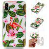 Flamingos Soft TPU Silicone Case Cover para iPhone X - TRANSPARENTE