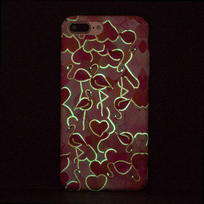 Flamingos Luminous Ultra Thin Slim Hard PC Case for iPhone 7 Plus/8 PlusiPhone Cases/Covers<br>Flamingos Luminous Ultra Thin Slim Hard PC Case for iPhone 7 Plus/8 Plus<br><br>Compatible for Apple: iPhone 7 Plus, iPhone 8 Plus<br>Features: Anti-knock<br>Material: PC<br>Package Contents: 1 x Phone Case<br>Package size (L x W x H): 16.00 x 9.00 x 1.00 cm / 6.3 x 3.54 x 0.39 inches<br>Package weight: 0.0200 kg<br>Style: Pattern, Glow in the Dark