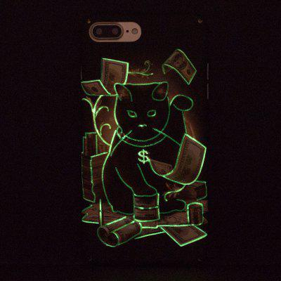 Plutus Cat Luminous Ultra Thin Slim Hard PC Case for iPhone 7 Plus/8 PlusiPhone Cases/Covers<br>Plutus Cat Luminous Ultra Thin Slim Hard PC Case for iPhone 7 Plus/8 Plus<br><br>Compatible for Apple: iPhone 7 Plus, iPhone 8 Plus<br>Features: Anti-knock<br>Material: PC<br>Package Contents: 1 x Phone Case<br>Package size (L x W x H): 16.00 x 9.00 x 1.00 cm / 6.3 x 3.54 x 0.39 inches<br>Package weight: 0.0200 kg<br>Style: Pattern, Glow in the Dark