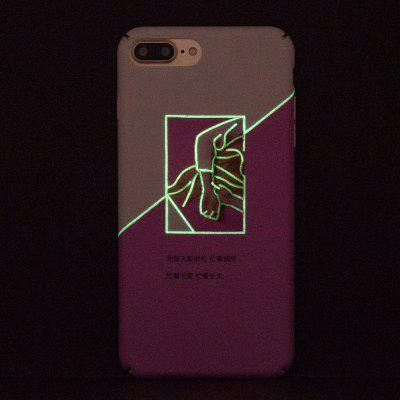 Luminous Ultra Thin Slim Hard PC Case for iPhone 7 Plus/8 PlusiPhone Cases/Covers<br>Luminous Ultra Thin Slim Hard PC Case for iPhone 7 Plus/8 Plus<br><br>Compatible for Apple: iPhone 7 Plus, iPhone 8 Plus<br>Features: Anti-knock<br>Material: PC<br>Package Contents: 1 x Phone Case<br>Package size (L x W x H): 16.00 x 9.00 x 1.00 cm / 6.3 x 3.54 x 0.39 inches<br>Package weight: 0.0200 kg<br>Style: Pattern, Glow in the Dark