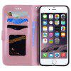 Flash Powder Unicorn Premium PU-Leder-Handyhülle für iPhone 6 Plus / 6S Plus - ROSé-GOLD