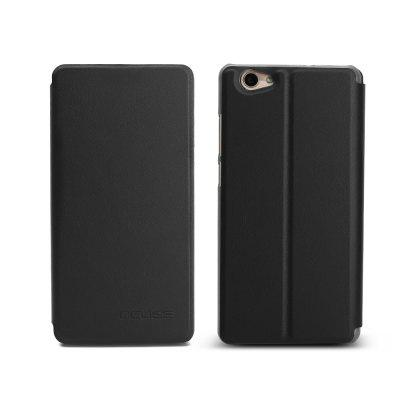 Ocube Flip Folio Stand Up Holder Pu Leather Case Cover for Vernee Thor Plus Cellphone